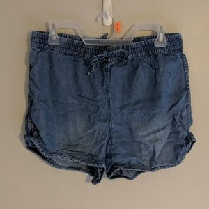 Juicy Couture Denim Flowy Shorts